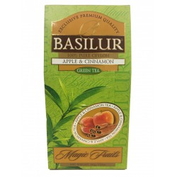 Basilur Fahéjas alma zöld teával Basilur Zöld tea 0