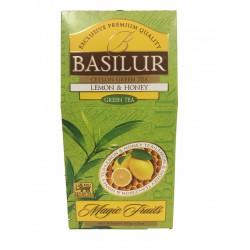 Basilur citrom & méz zöld teával Basilur Zöld tea 0